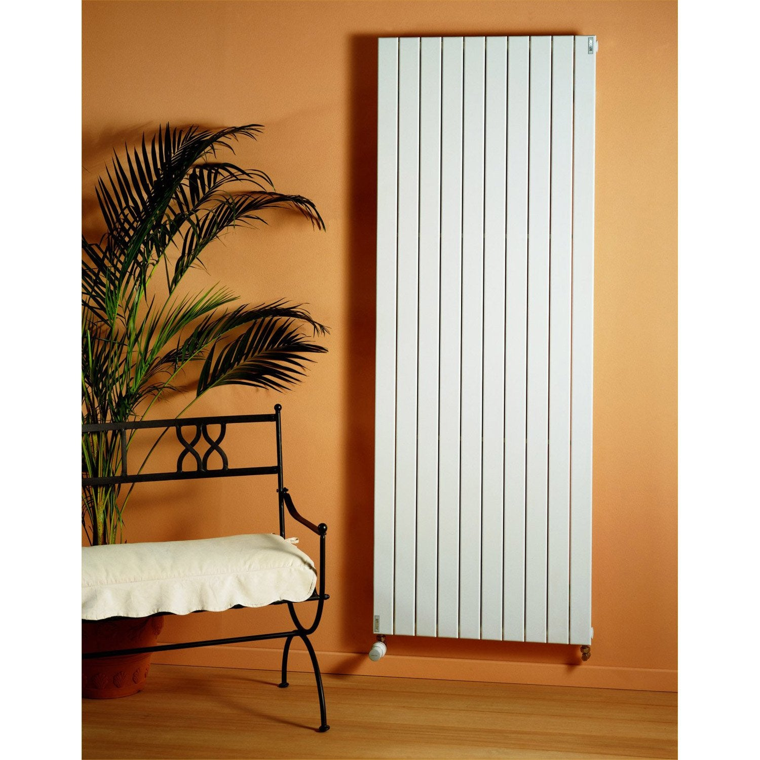 radiateur chauffage central lina double blanc cm. Black Bedroom Furniture Sets. Home Design Ideas