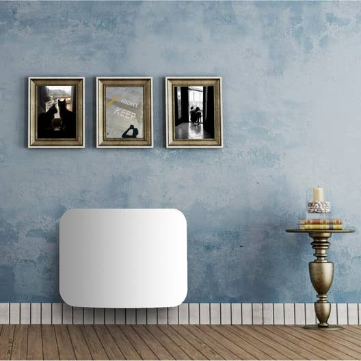 radiateur lectrique double syst me chauffant equation liraso 1000 w leroy merlin. Black Bedroom Furniture Sets. Home Design Ideas