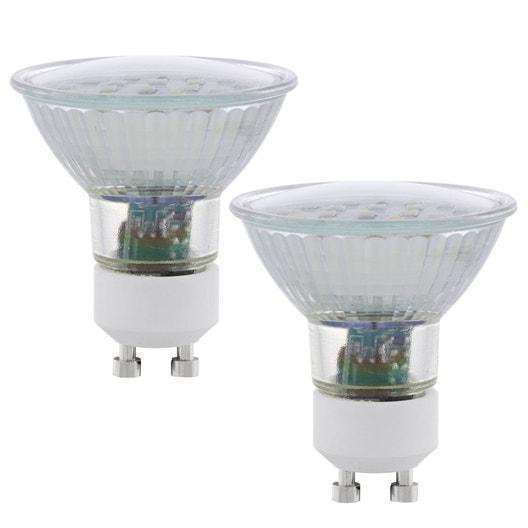lot de 2 ampoules r flecteurs led 5w 400lm quiv 50w. Black Bedroom Furniture Sets. Home Design Ideas