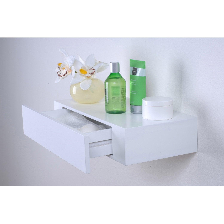 etag re tiroir blanc x cm mm leroy merlin. Black Bedroom Furniture Sets. Home Design Ideas