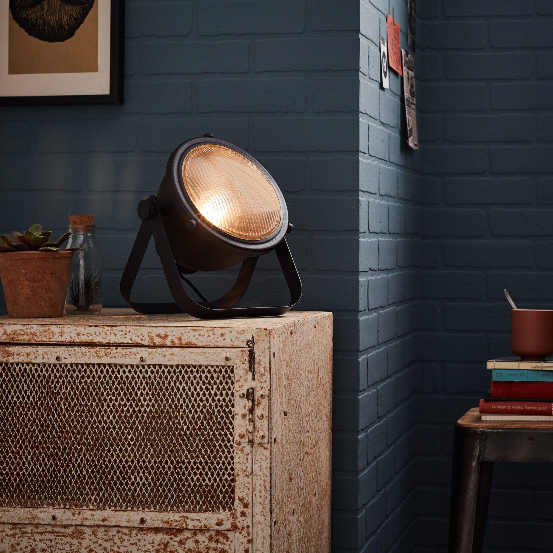 Lampe, e27 Bo BRILLIANT, métal noir, 40 W