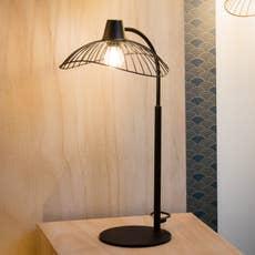 suspension e27 design kasteli m tal noir 1 x 40 w seynave leroy merlin. Black Bedroom Furniture Sets. Home Design Ideas
