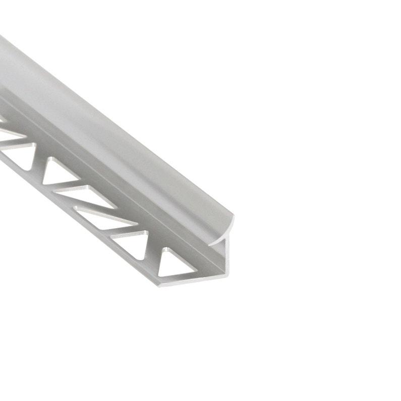 Profil D étanchéité Mur Et Sol Argent Mat Aluminium L 250 Cm X Ep 10 Mm
