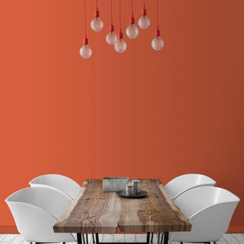 Peinture Orange Makina Satin Ripolin Murs Et Boiseries 0 5 L