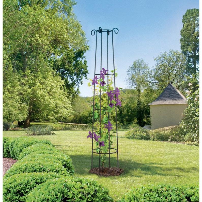 Tuteur Colonne Nortene Obelisk H200cm