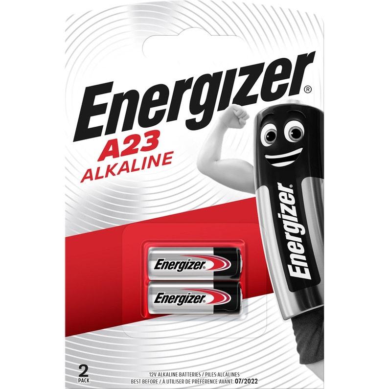 Lot De 2 Minipiles Alcaline A23mn21v23ga 12 V Energizer