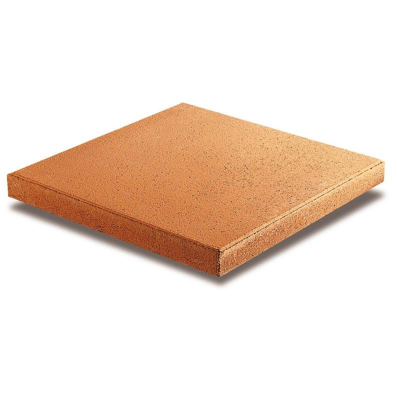 Dalle Beton Provencale Saumon L 50 X L 50 Cm X Ep 50 Mm Leroy Merlin