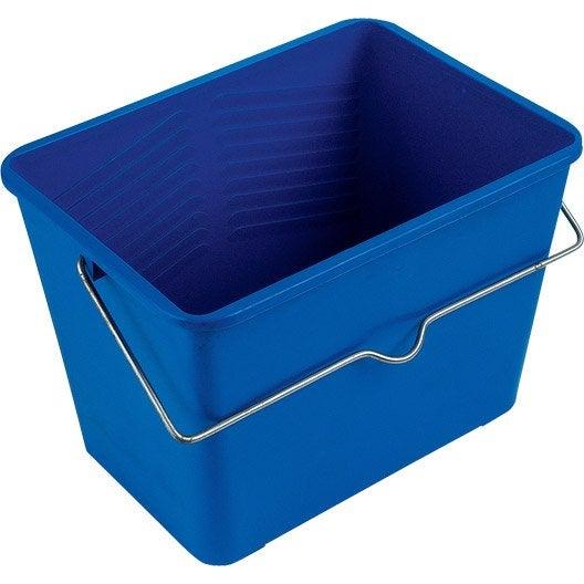 seau bleu colle milbox 7 5 l leroy merlin. Black Bedroom Furniture Sets. Home Design Ideas