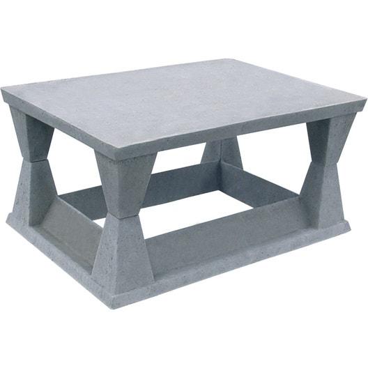 aspirateur pour conduit de chemin e weser 54x74 cm leroy merlin. Black Bedroom Furniture Sets. Home Design Ideas