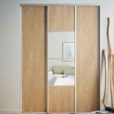 Des portes de placard coulissantes et pratiques