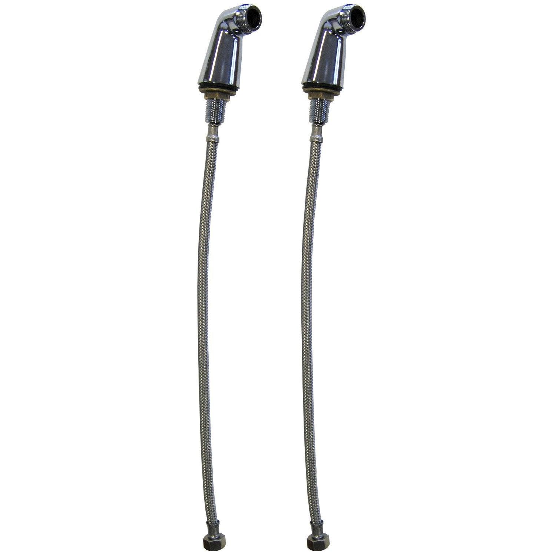 2 colonnettes + 2 flexibles sertis, mâle/femelle 15x21/20x27mm, CO