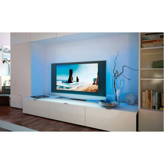 ruban led tv 2 x multicolore 3000k paulmann leroy merlin. Black Bedroom Furniture Sets. Home Design Ideas