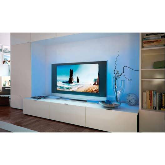 ruban led tv 2 x multicolore 3000k paulmann leroy merlin. Black Bedroom Furniture Sets. Home Design Ideas