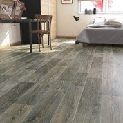 Sol PVC pin barn pine naturel, ARTENS Textile l.4 m