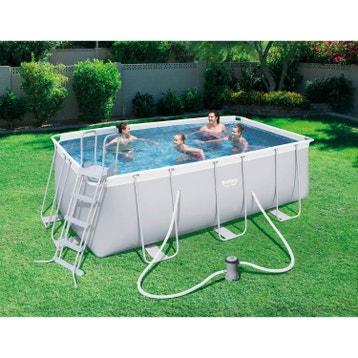 Piscine hors sol piscine bois gonflable tubulaire for Piscine b24
