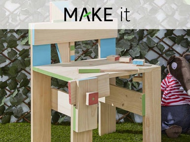 diy cr er un mini tabli pour enfant leroy merlin. Black Bedroom Furniture Sets. Home Design Ideas