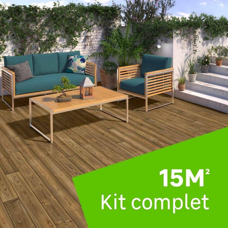 kit terrasse bois sur pilotis  surge protector house