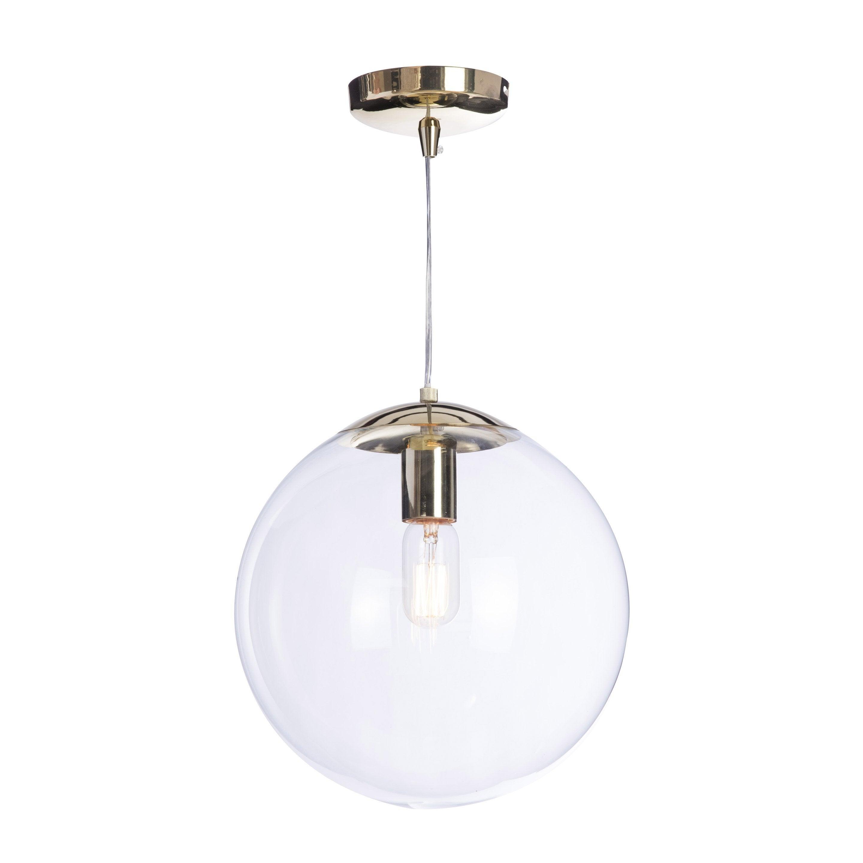 ... Design Verre Incolore / Transparent LUSSIOL Globus 1 Lumière(s) D.