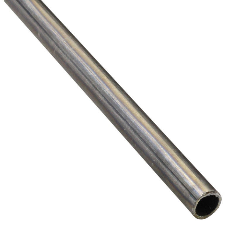 Tube Rond Fer Brut Noir L2 M X L16 Cm X H16 Cm X Diam16 Mm