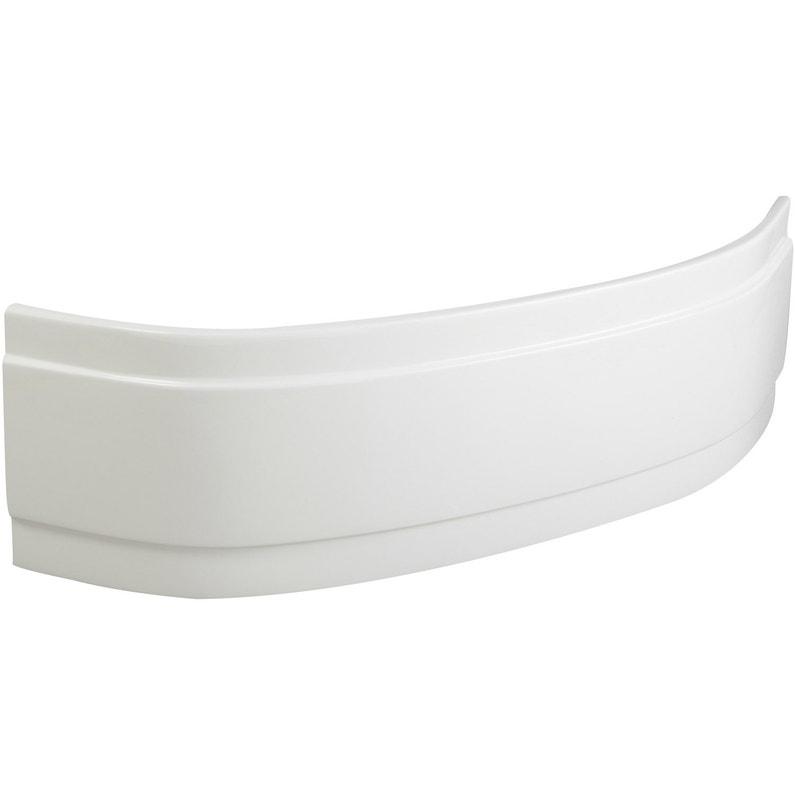 Tablier De Baignoire Dangle L115x L115 Cm Blanc Sensea Access