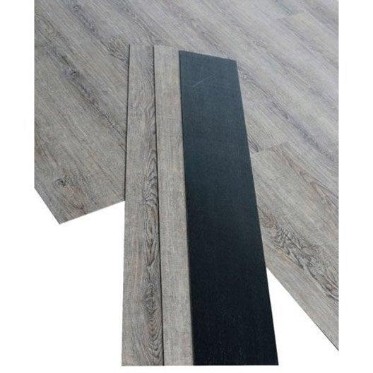 lame pvc clipsable havane havane premium clic 5g leroy merlin. Black Bedroom Furniture Sets. Home Design Ideas