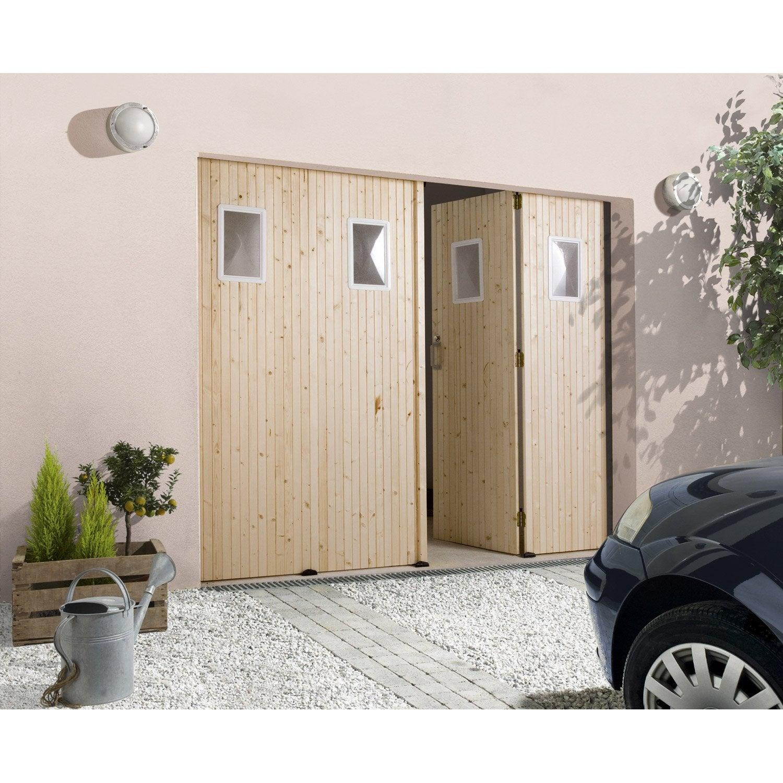Porte De Garage Coulissante Ouverture Latérale Porte De Garage - Portes de garage coulissantes
