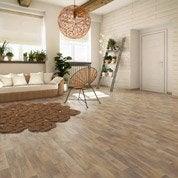 Sol PVC chêne water oak naturel, ARTENS Textile l.4 m