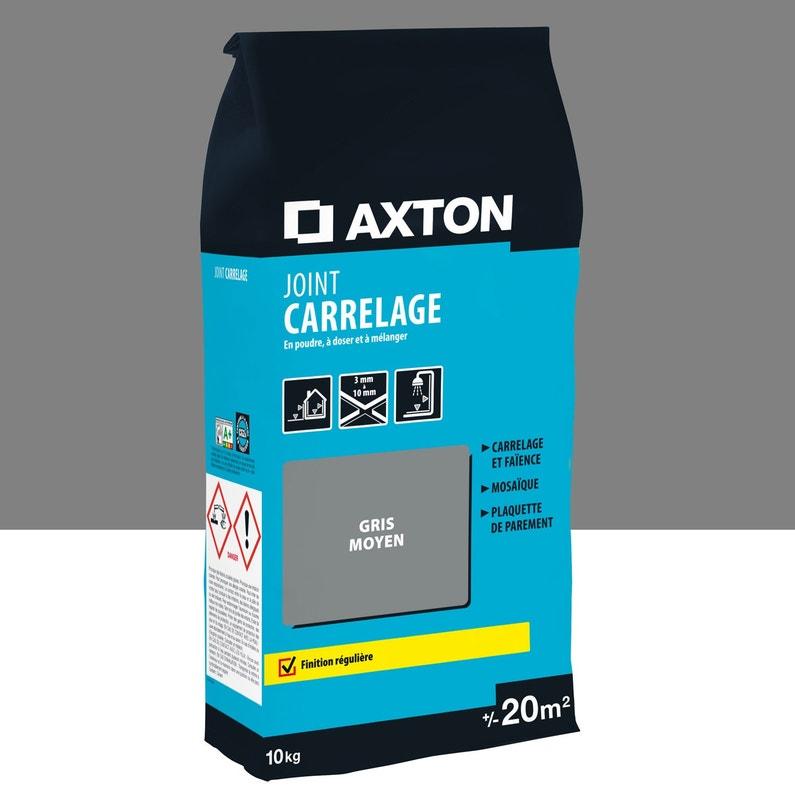 Joint Poudre Axton Gris 10 Kg 20 M²