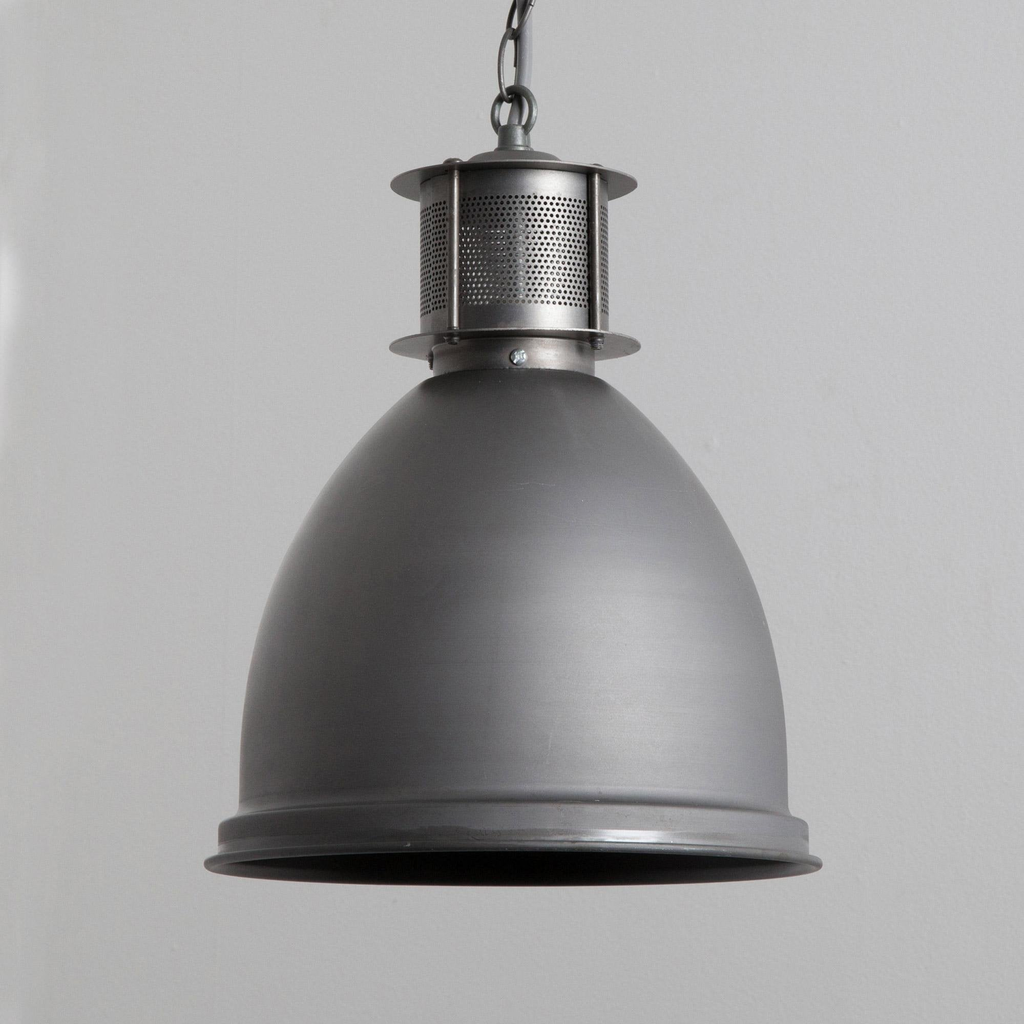 Suspension, e27 design Raina métal acier brossé 1 x 60 W INSPIRE