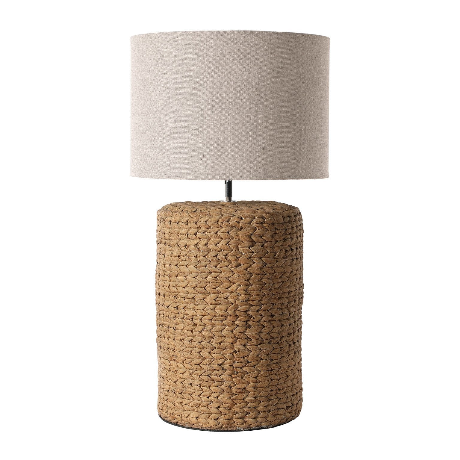 Lampe, charme romantique, céramique beige, LUSSIOL Agnes