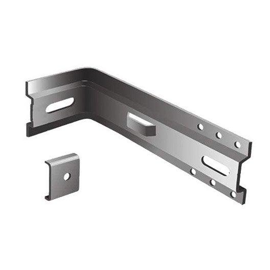 equerre et platine galvanis faynot 80x60x60 mm leroy. Black Bedroom Furniture Sets. Home Design Ideas