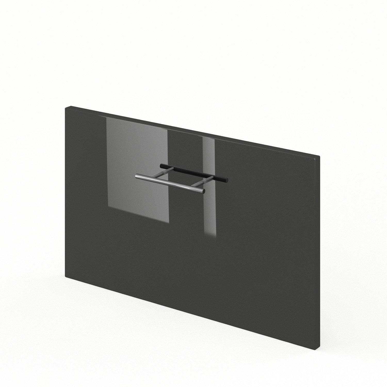 tiroir sous lave vaisselle de cuisine gris rio x x cm leroy merlin. Black Bedroom Furniture Sets. Home Design Ideas