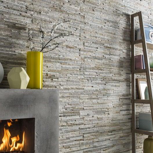 awesome plaquette de parement pierre naturelle rose gris. Black Bedroom Furniture Sets. Home Design Ideas