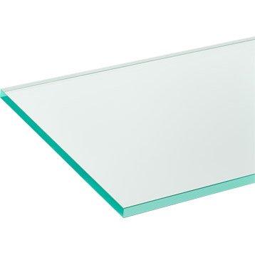 Verre clair Clair transparent lisse L.160 x l.80 cm 2 mm
