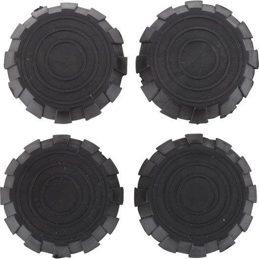 Lot de 4 amortisseurs en caoutchouc 3m leroy merlin - Patin anti vibration ...