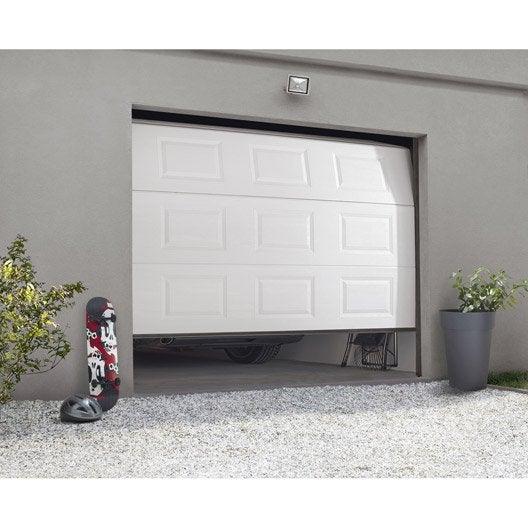 porte de garage sectionnelle motoris e artens essentiel h. Black Bedroom Furniture Sets. Home Design Ideas