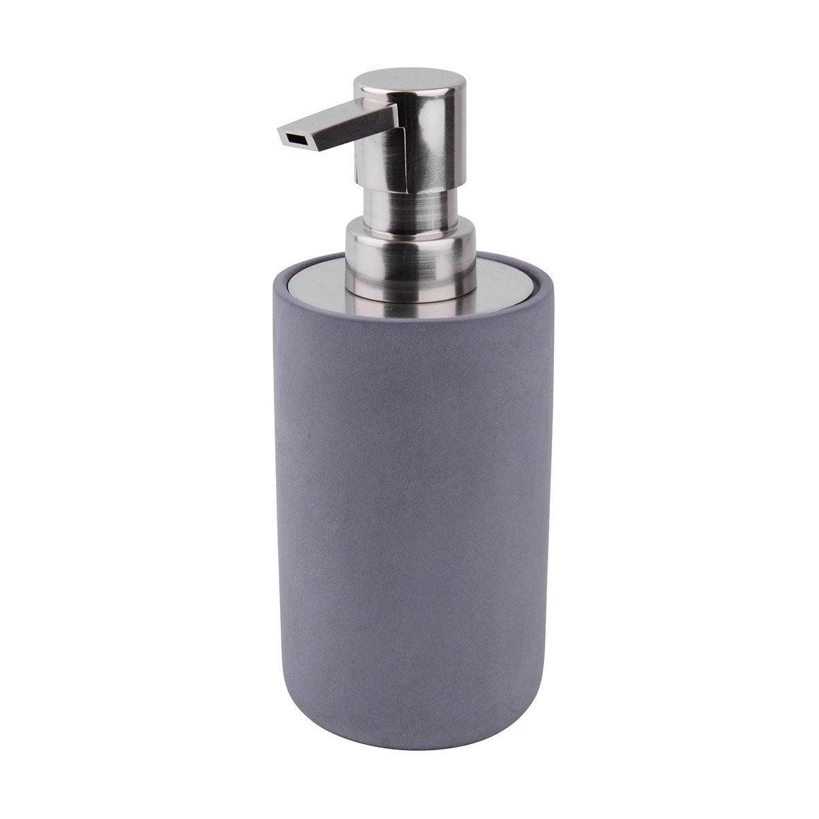 Distributeur de savon béton Apollon, gris foncé
