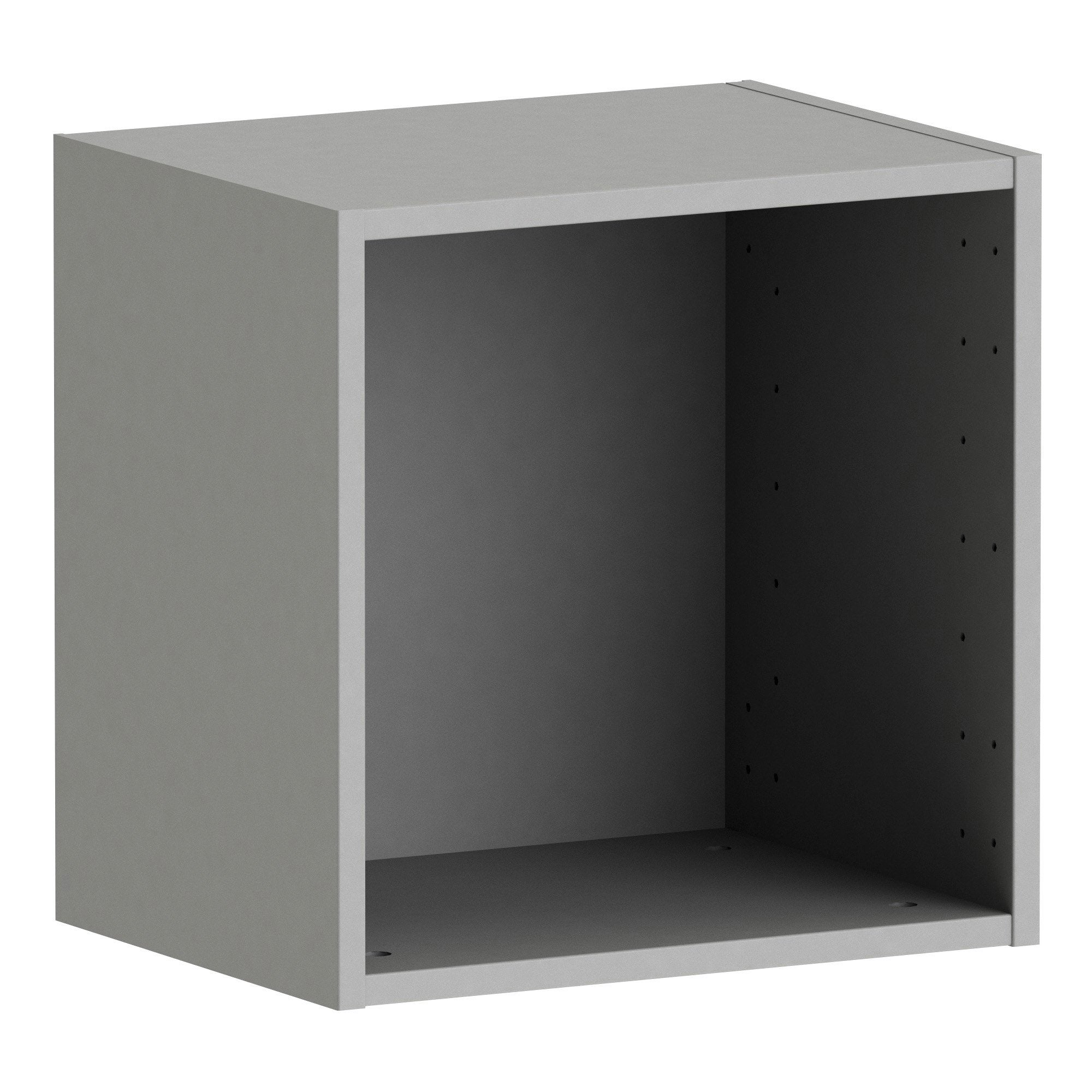 Caisson SPACEO Home, anthracite H.40 x l.40 x P.30 cm