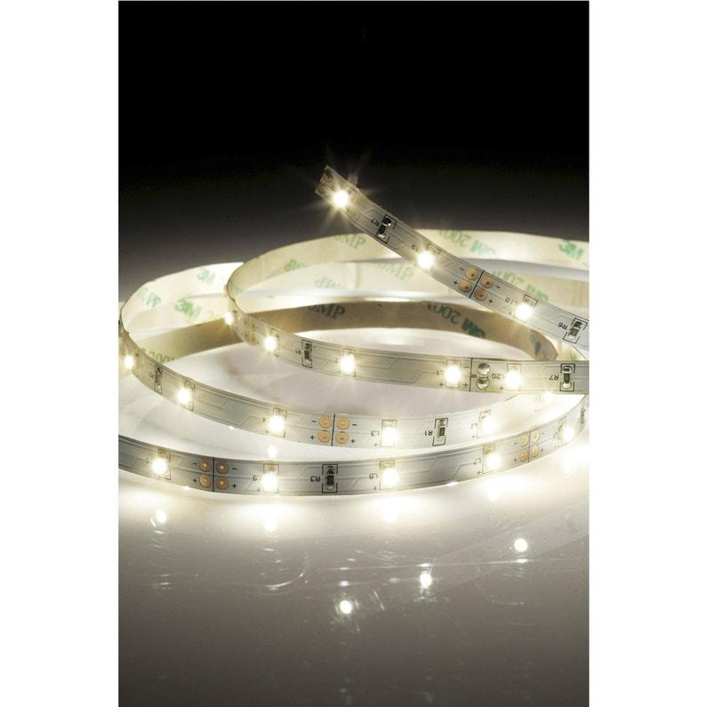 ruban led 5m blanc chaud 3000k 2400 lumens stripled. Black Bedroom Furniture Sets. Home Design Ideas