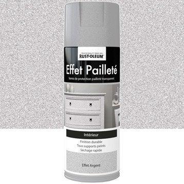 Bombe de peinture ext rieure a rosol peinture tous mat riaux barbecue fe - Peinture effet paillete ...