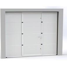 porte de garage sectionnelle basculante porte de garage avec portillon leroy merlin. Black Bedroom Furniture Sets. Home Design Ideas