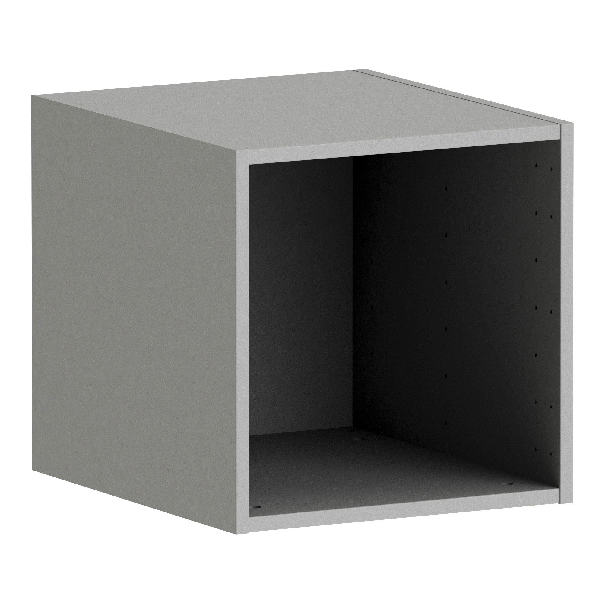 Caisson SPACEO Home, anthracite H.40 x l.40 x P.45 cm