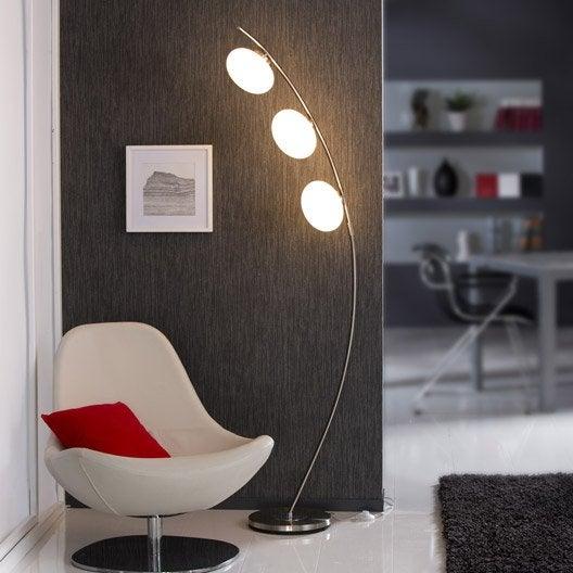 lampadaire colby 178 cm blanc 40 w Résultat Supérieur 15 Luxe Lampadaire Inox Design Galerie 2017 Pkt6