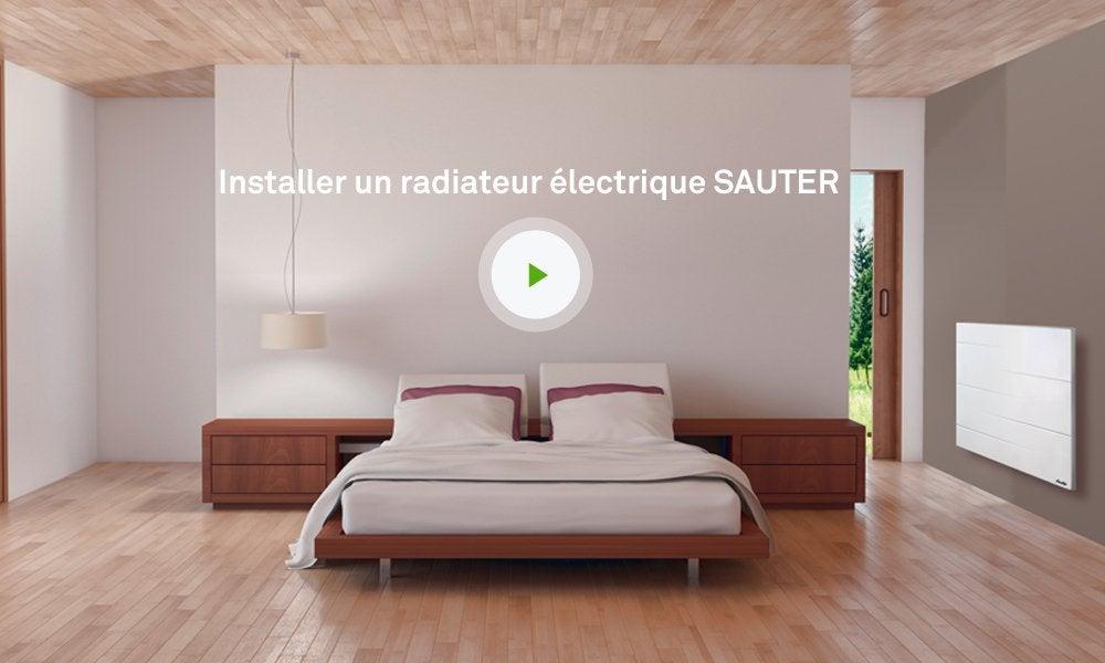 radiateur electrique sauter malao. Black Bedroom Furniture Sets. Home Design Ideas