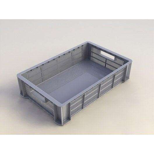 boite de rangement boite plastique pin carton leroy. Black Bedroom Furniture Sets. Home Design Ideas