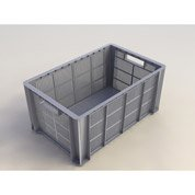 bac de manutention stacking box plastique x x cm leroy merlin. Black Bedroom Furniture Sets. Home Design Ideas