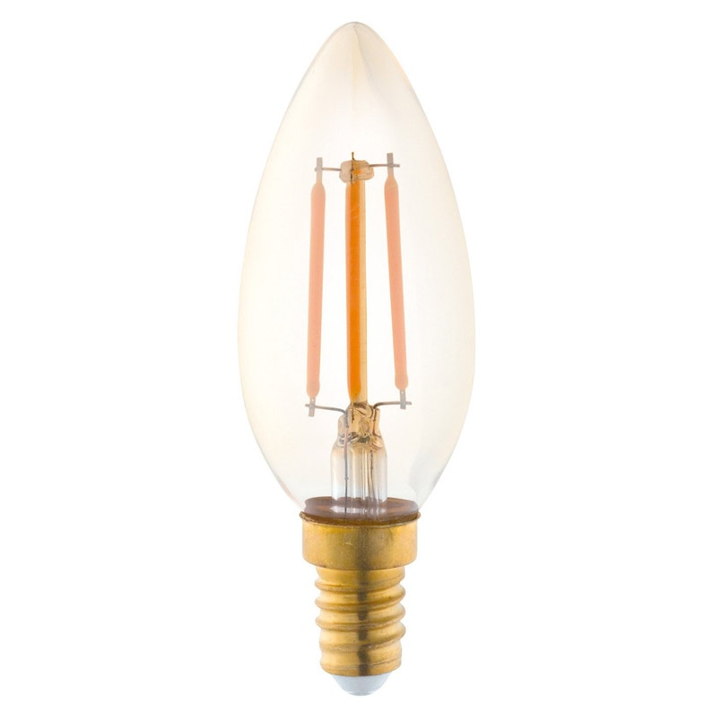 Ampoule Vintage Led Flamme 35w 220lm équiv 25w E14 1700k Eglo