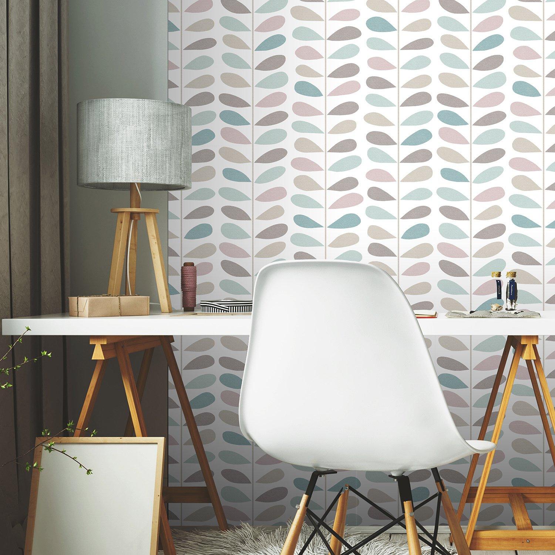 Papier Peint Pour Bureau le coin bureau aux couleurs vives | leroy merlin