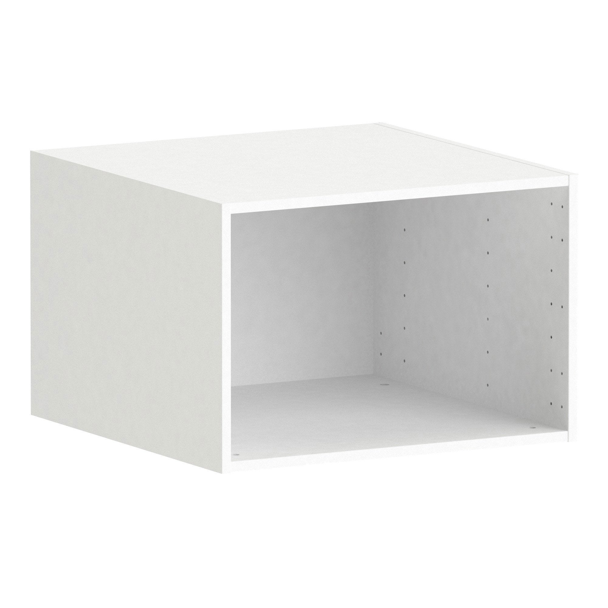 Caisson SPACEO Home, blanc H.40 x l.60 x P.60 cm