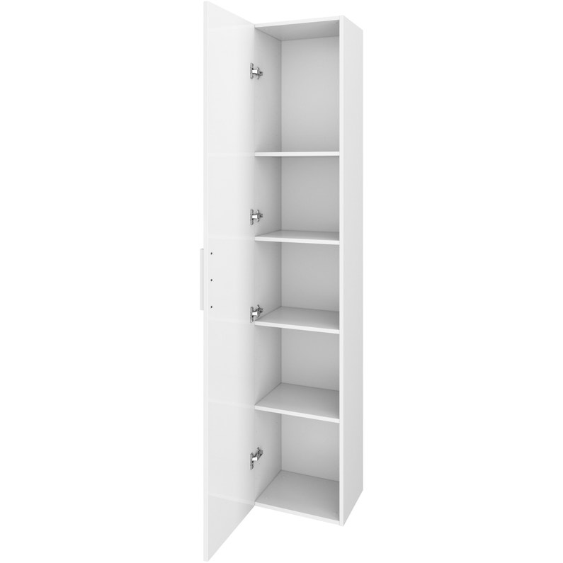 Caisson Spaceo Home Blanc H 200 X L 40 X P 30 Cm